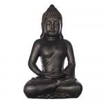 Buddha B4001 Bronze, für Innen und Außen, Buddha Figur XXL 64cm hoch , Buddha Statue groß, Büste, Gartendekoration, Wetterfest aus Kunststein (Polyresin) sehr aufwendig per Hand bemalt, sehr feine Strukturen