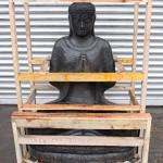 Großer Buddha aus Stein 150cm